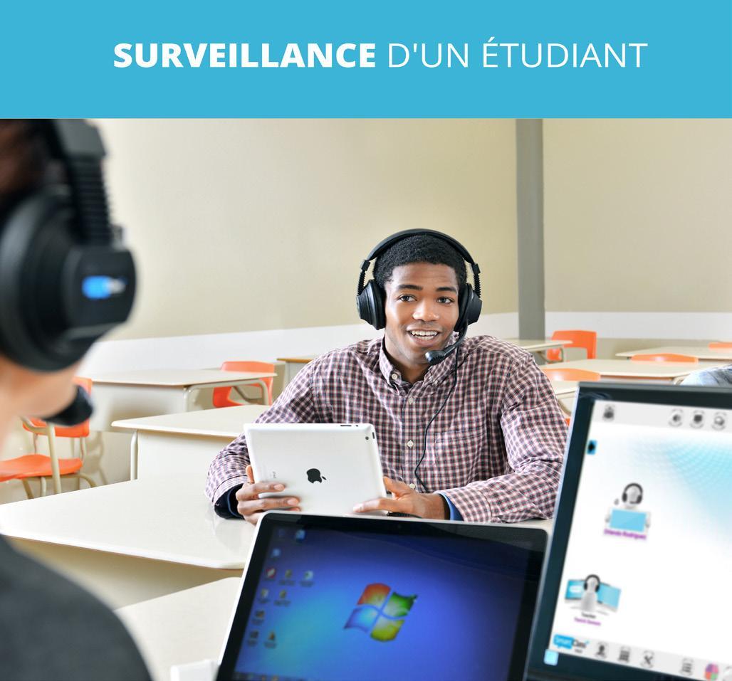 examen anglais surveillance élèves outils