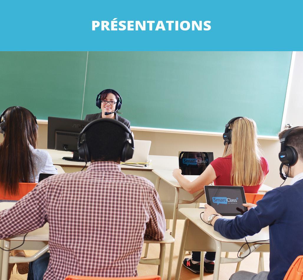 présentation smartclass cours de langues